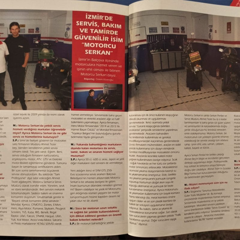 Motoron Dergisi Röportaj